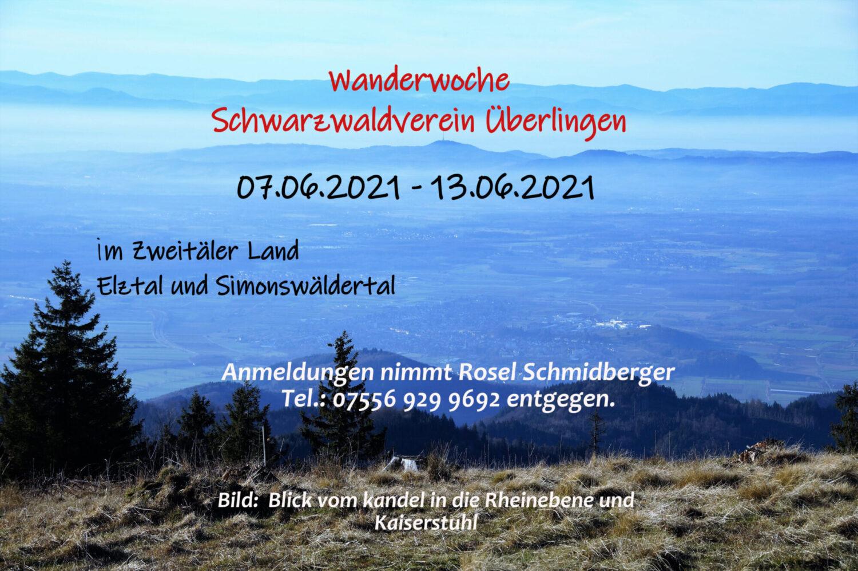 Wanderwoche 2021