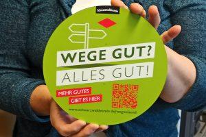 Werbeaktion des Schwarzwaldvereins e.V.